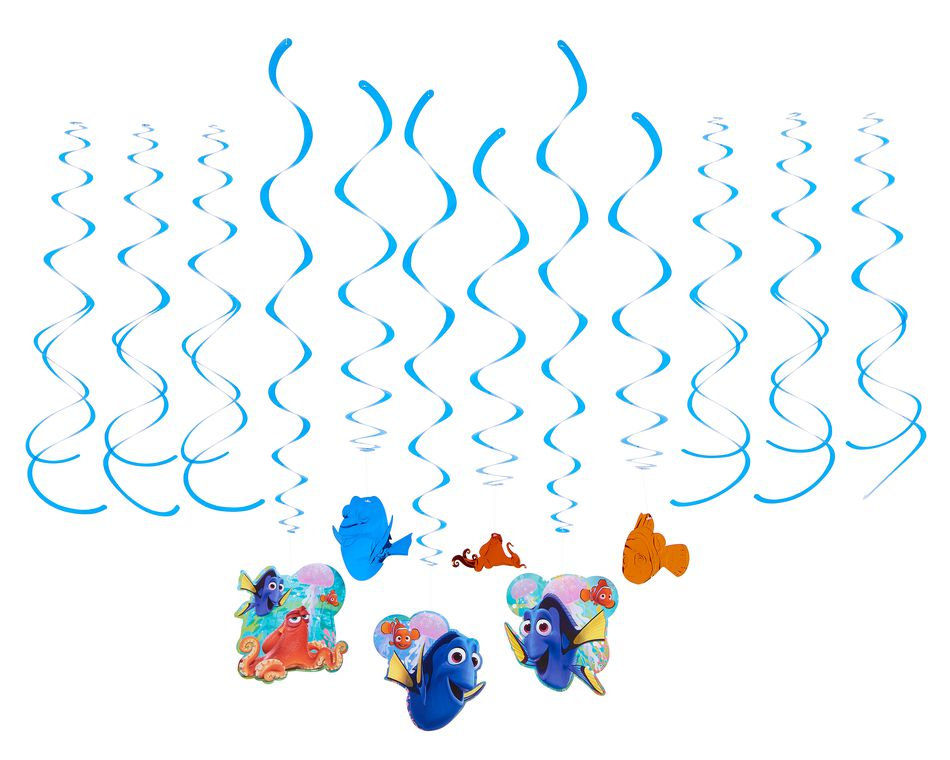 finding dory swirl décor value pack