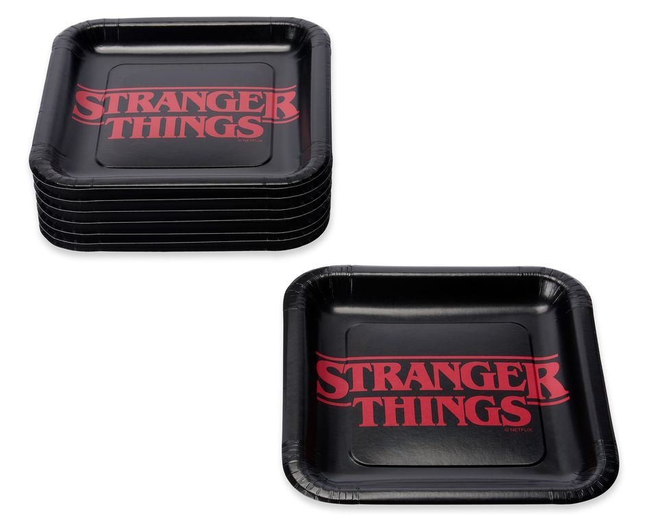 Stranger Things Dinner Plates, 8-Count