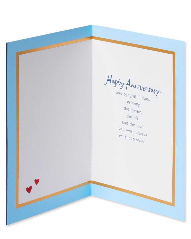 Wonderful Anniversary Card for Son and Daughter-in-Law