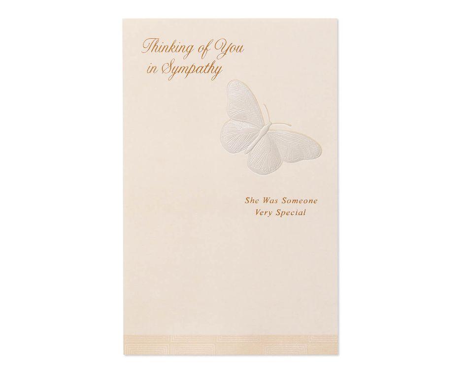 She Was Special Sympathy Card