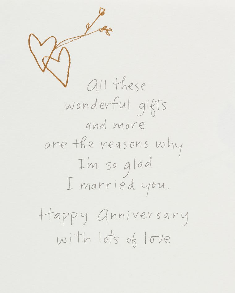 Kathy Davis Amazing Husband Anniversary Card for husband