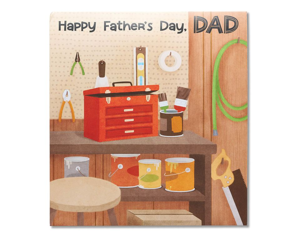 Toolshed Father's Day Card