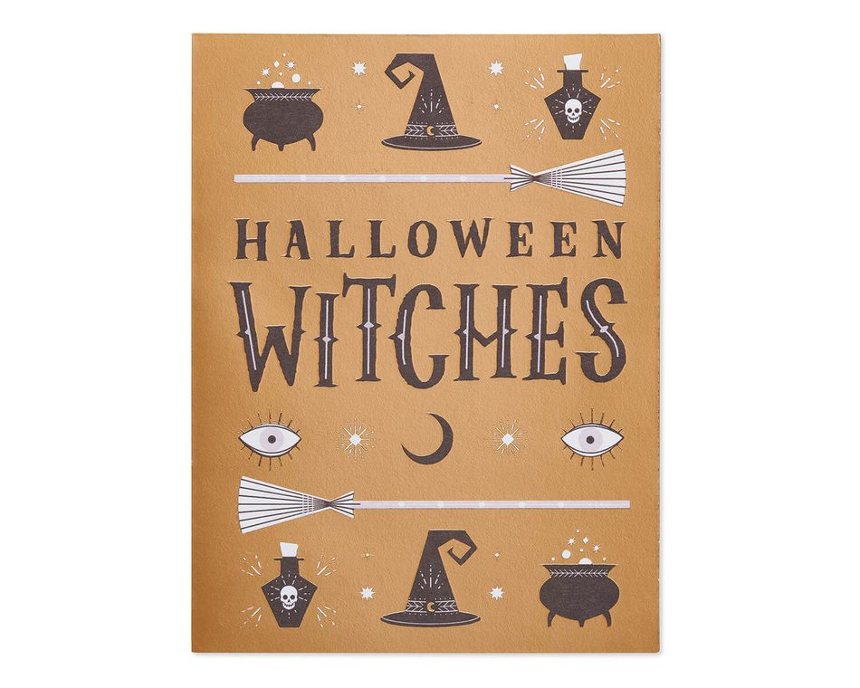 Witches Halloween Card