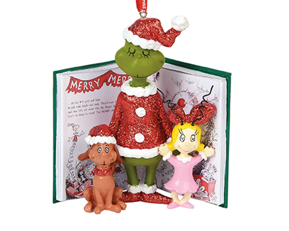 The Grinch Cindy and Max Ornament
