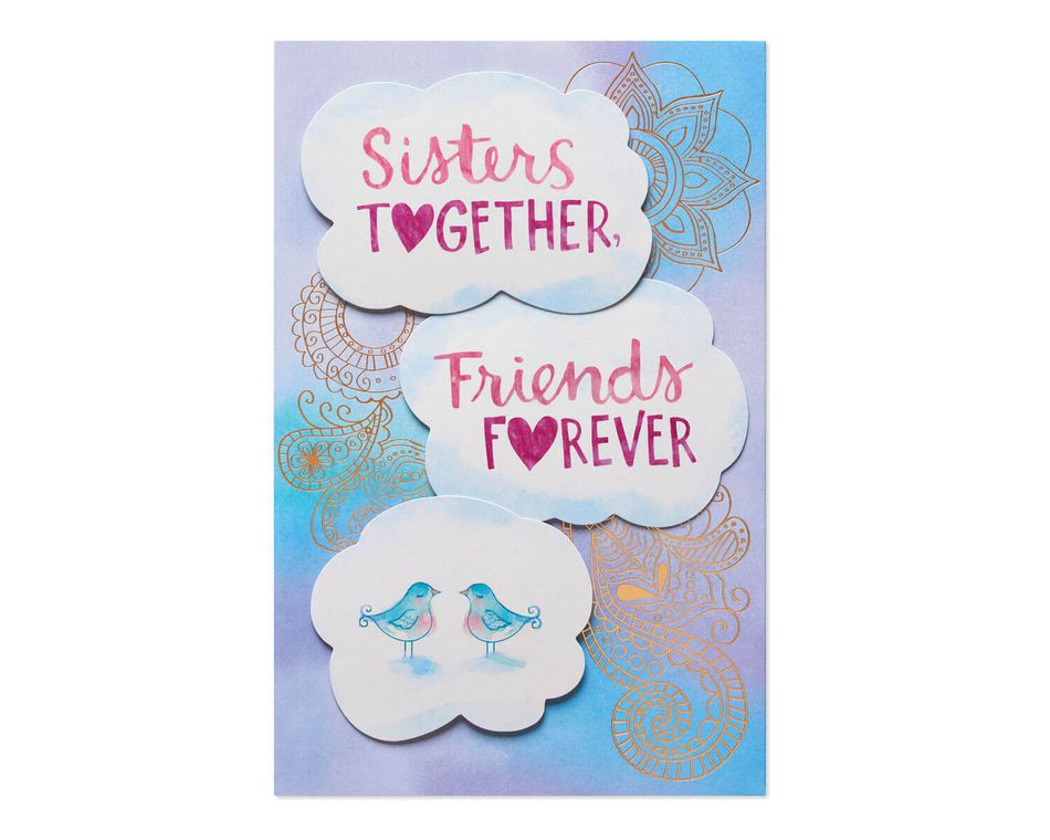 Sisters Together Mother's Day Card for Sister | American ...