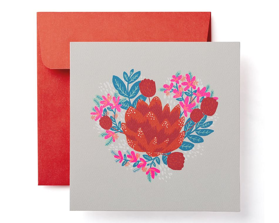 floral valentine's day card  american greetings