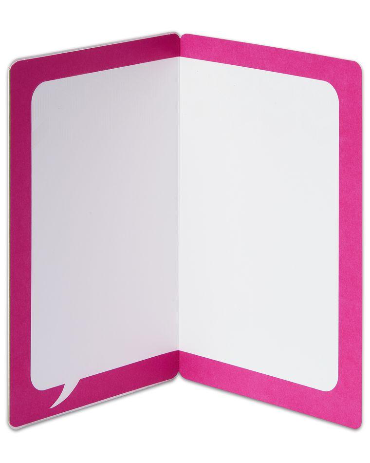 heart blank card