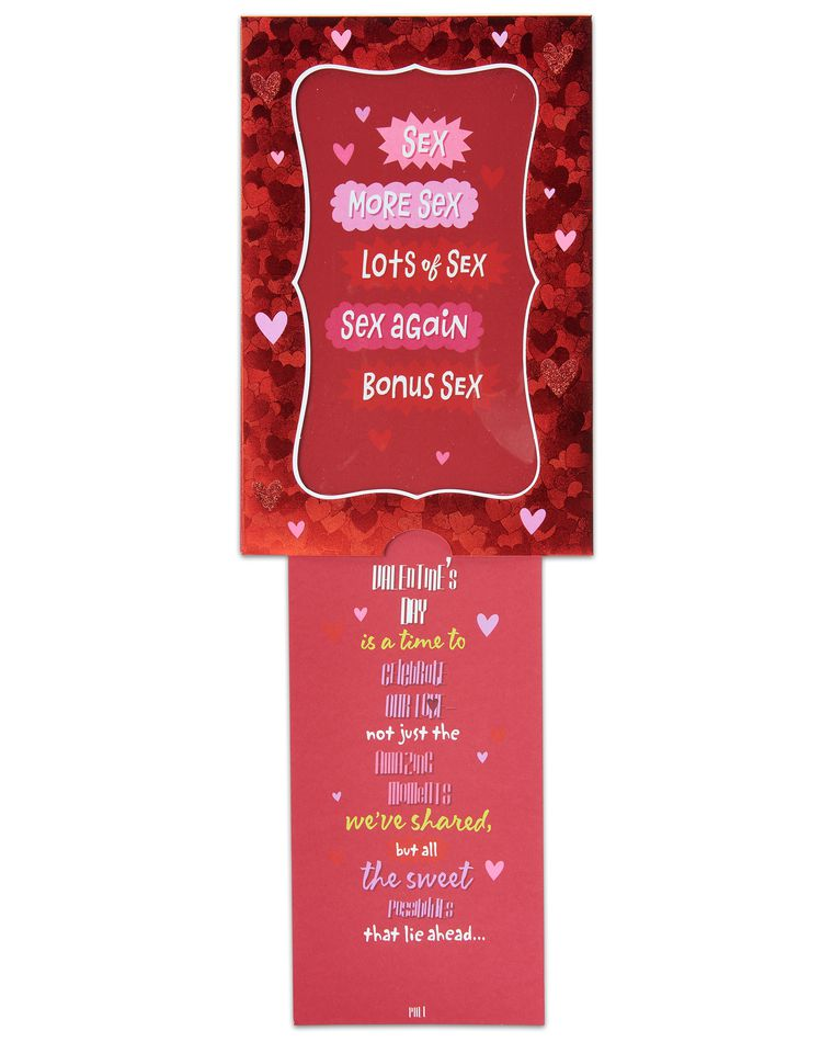 funny sexy valentine's day card