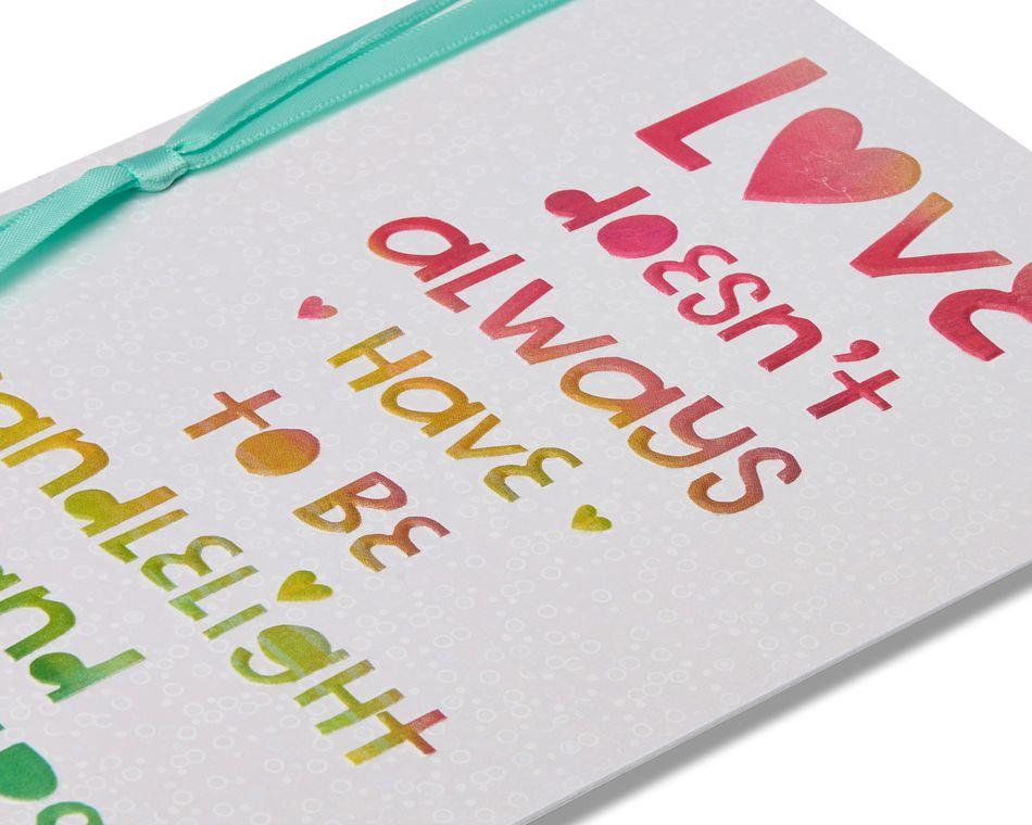 perfect romantic card