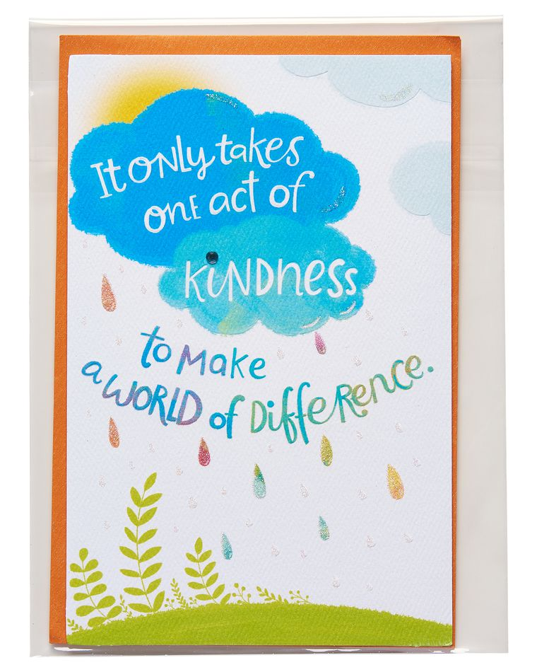 kindness thinking of you card