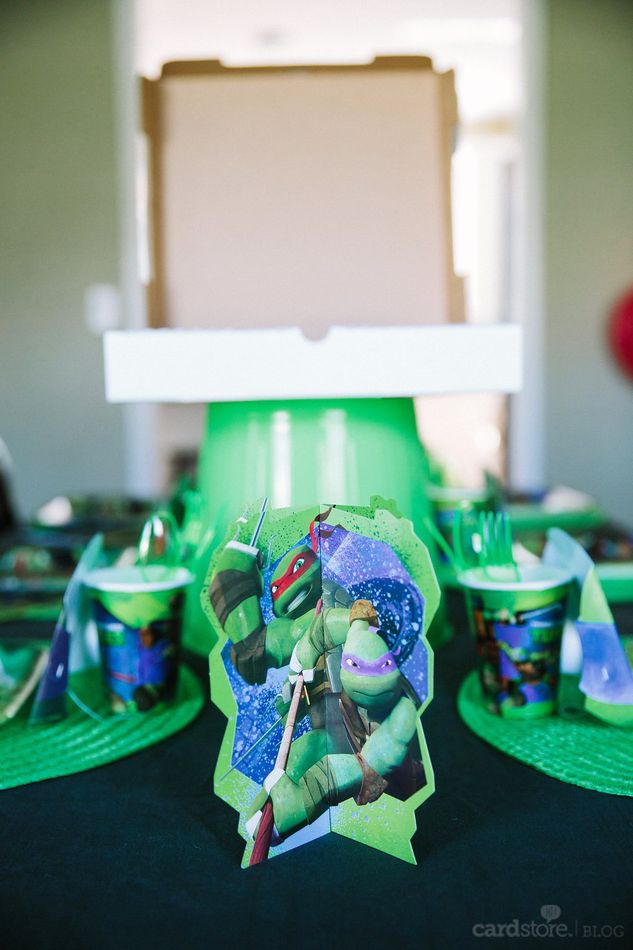 teenage mutant ninja turtles table decor kit