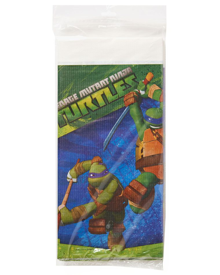 teenage mutant ninja turtles plastic table cover 54in x 96in