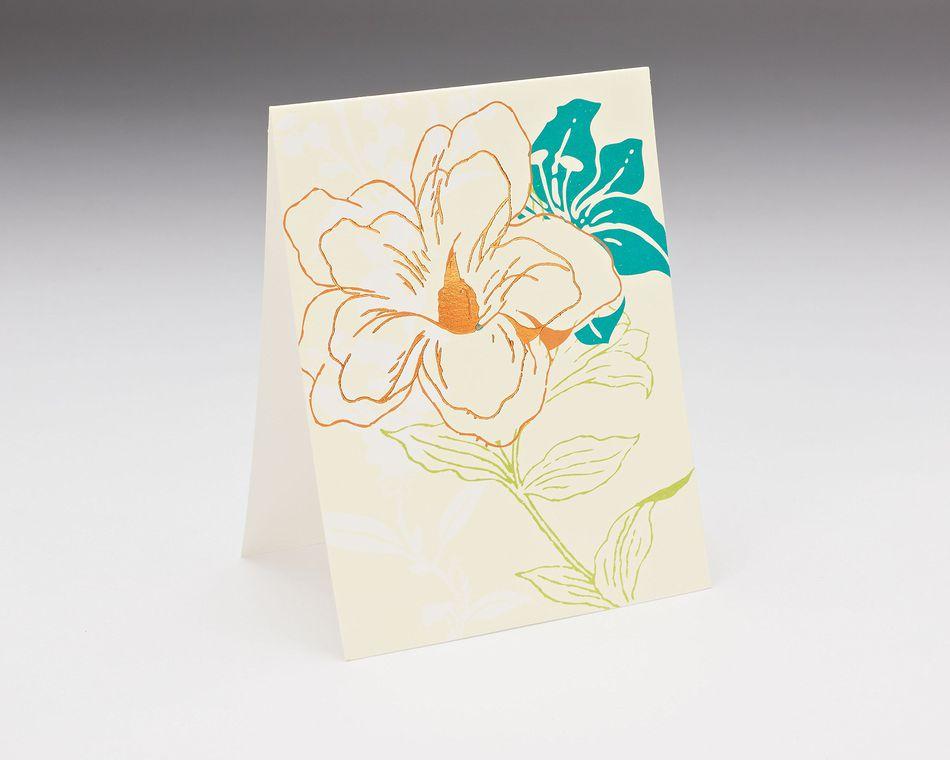 in full bloom blank notes