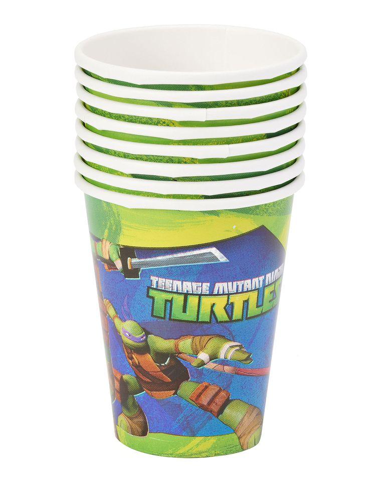 teenage mutant ninja turtles paper cups 8 ct