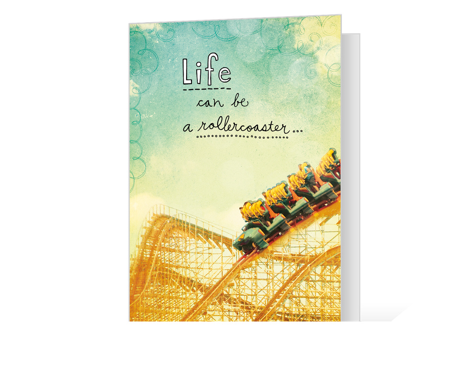 Life's a Rollercoaster Printable