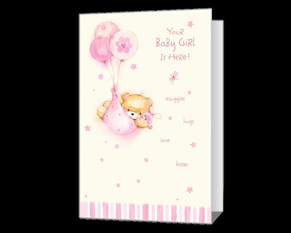 New Baby Girl Printable