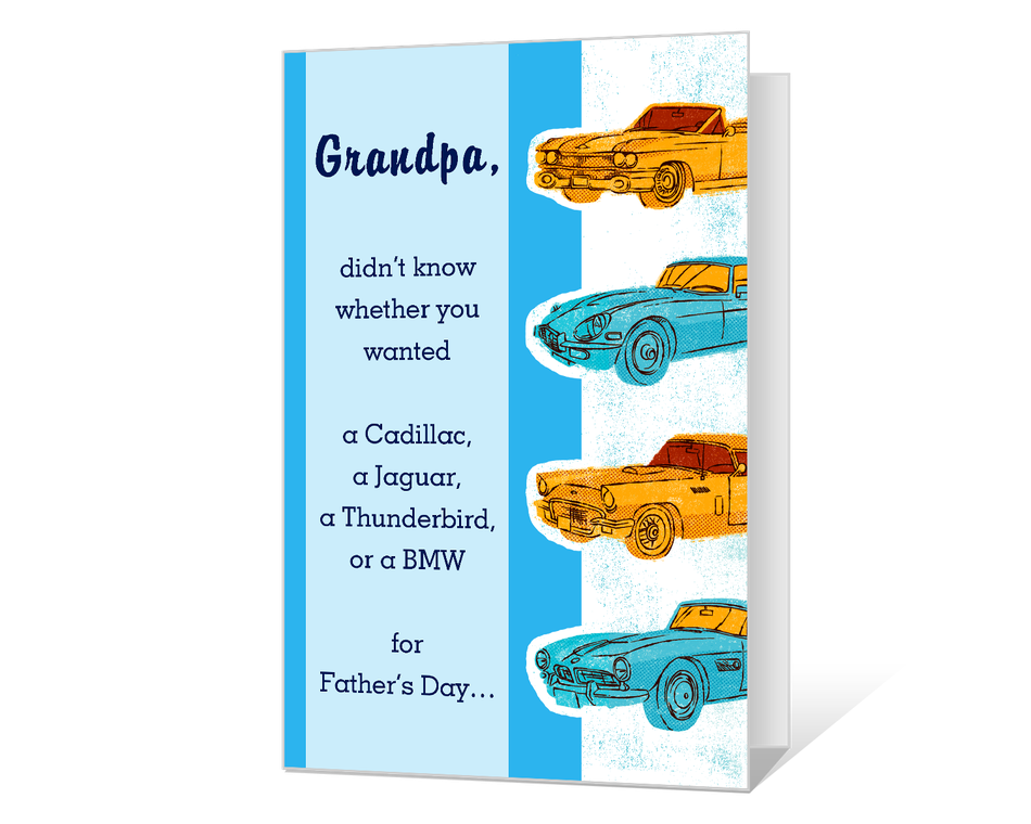 Just for Grandpa Printable