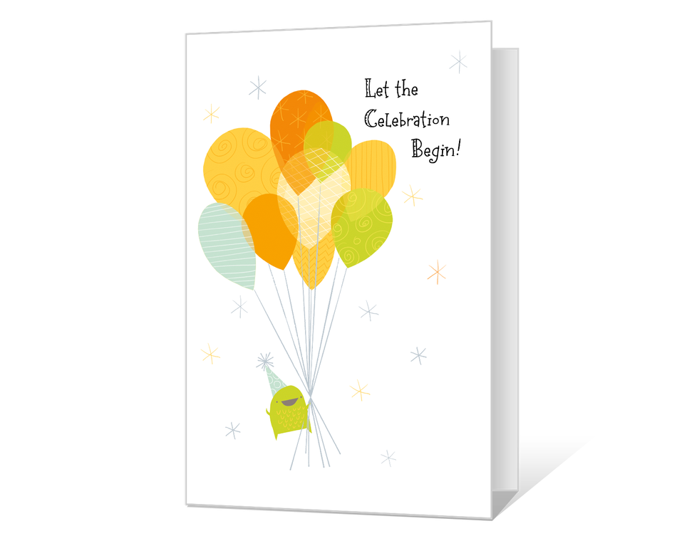 Let the Celebration Begin Printable