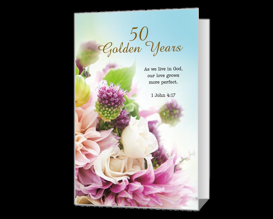 50 Golden Years Printable