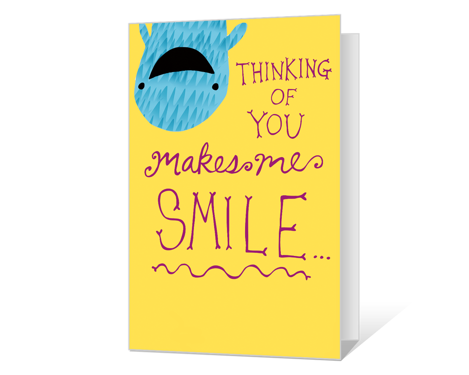 You Make Me Smile Printable
