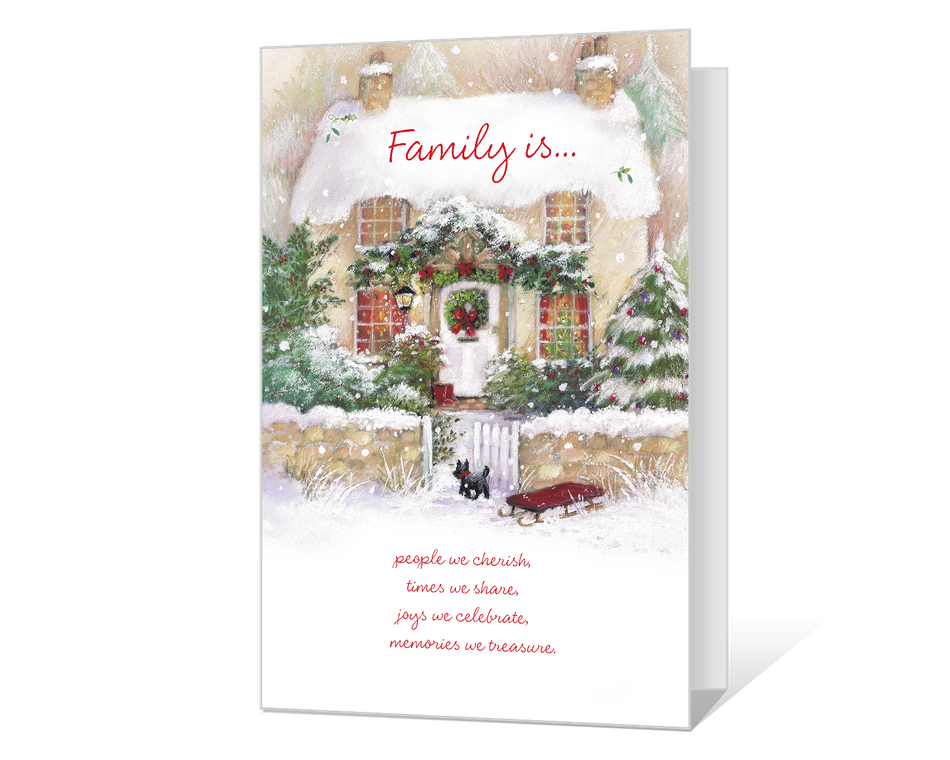 Christmas Is Family Printable