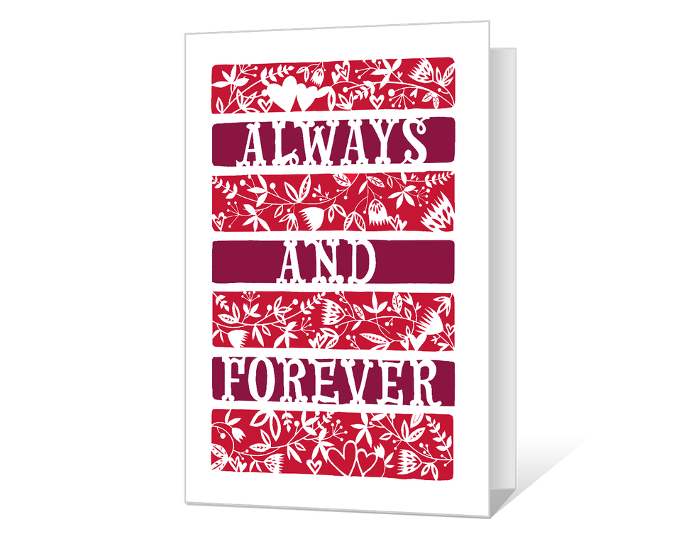 Always and Forever Printable