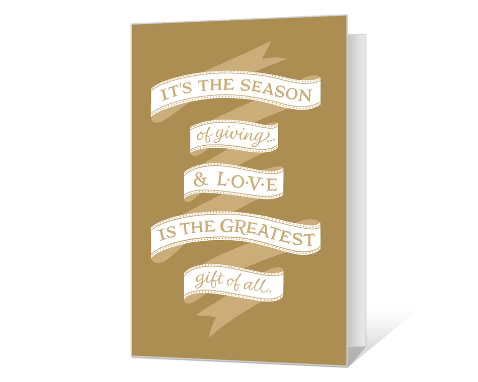 Season of Giving Printable