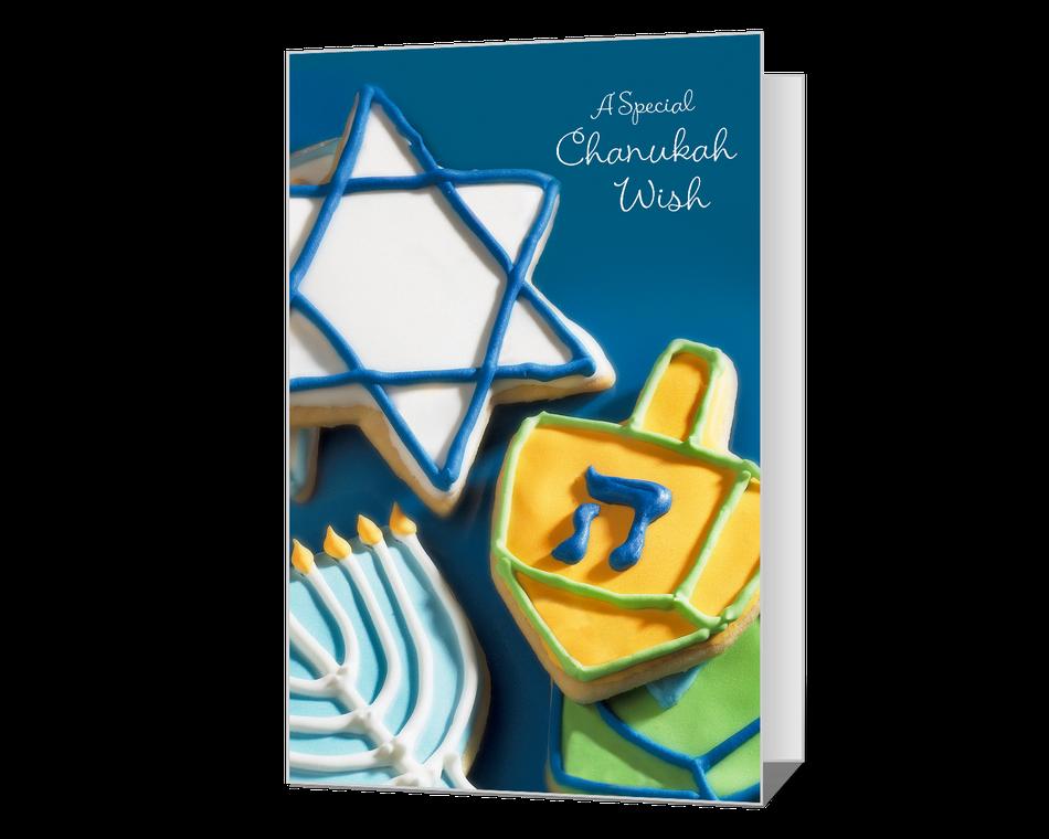 Chanukah Wish Printable