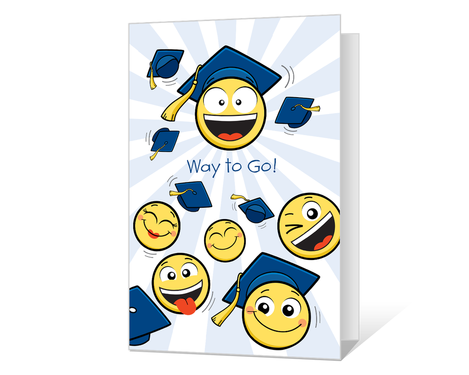 Way to Go, Grad Printable