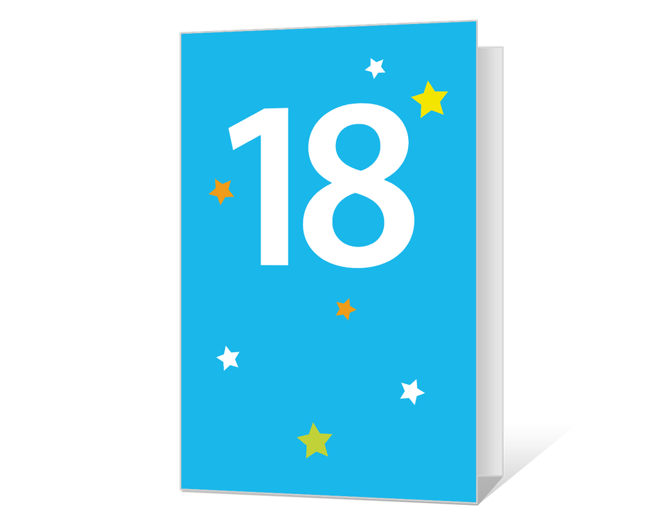18th Birthday Printable
