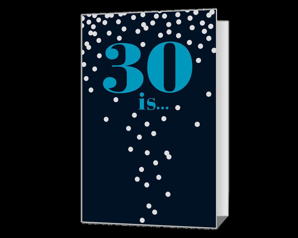 30th Birthday Printable
