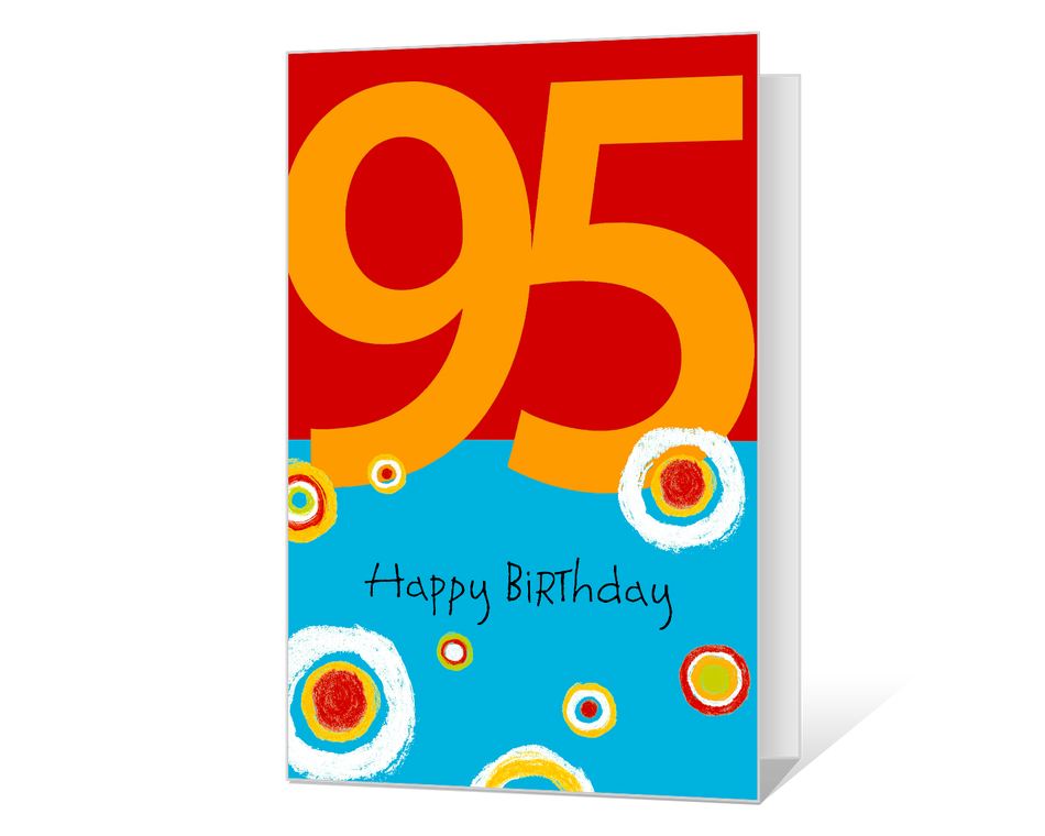 95th Birthday Printable