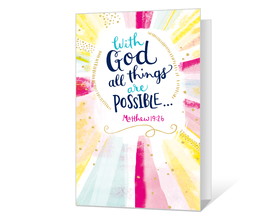 All Things Are Possible Printable