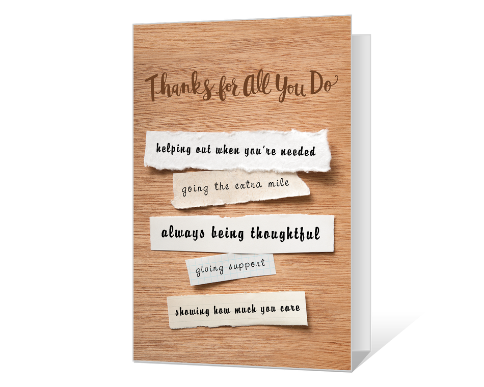 More Thank You Know  Printable