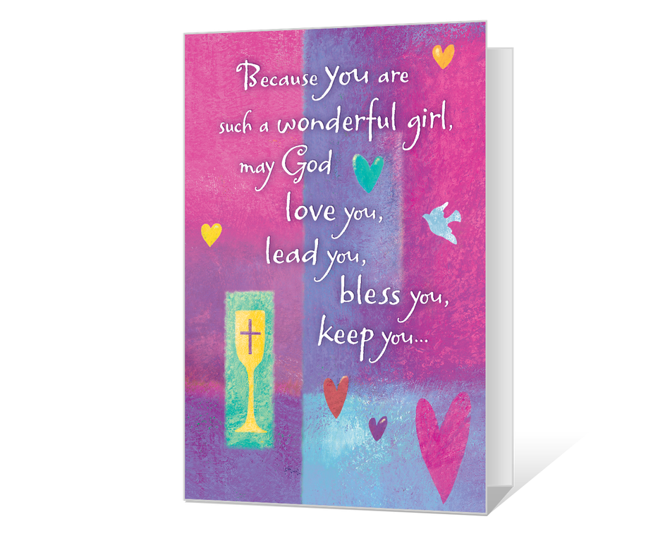 Blessings for A Special Girl Printable