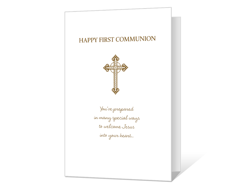 Happy First Communion Printable