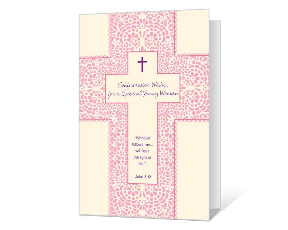 Confirmation for a Young Woman Printable