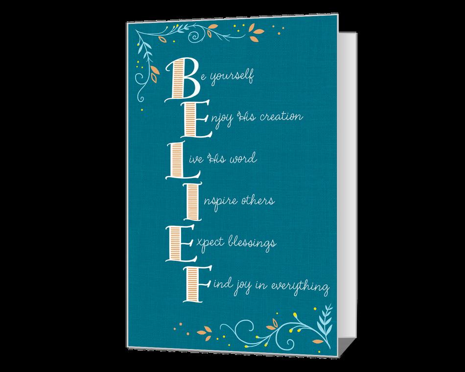 Belief in God Printable