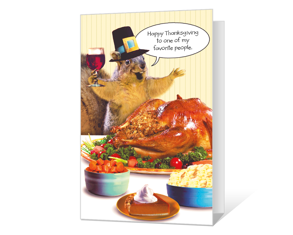 Nutty Thanksgiving Printable