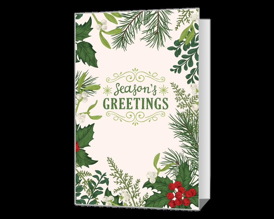Season's Wishes Printable