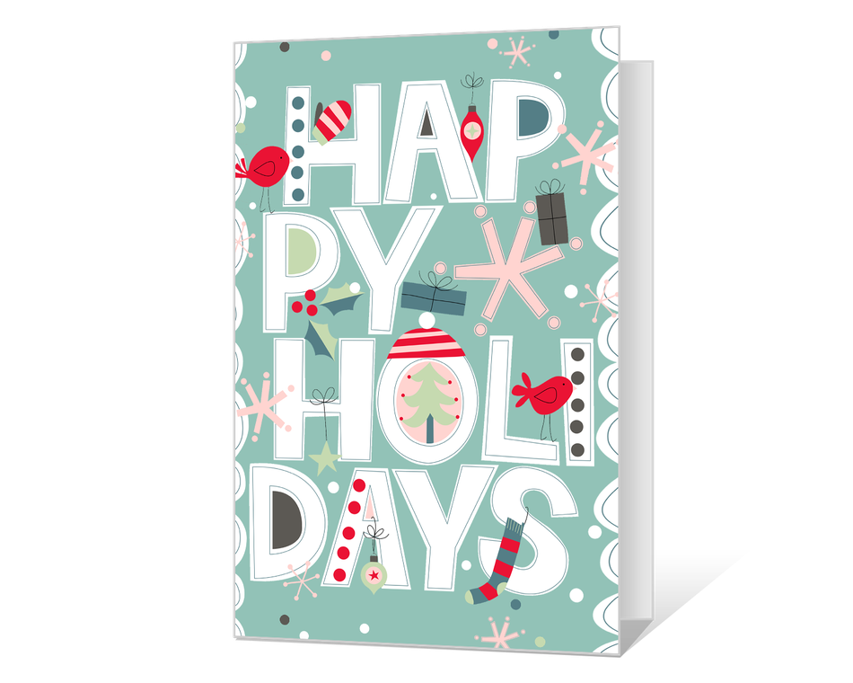Happy Holidays Printable