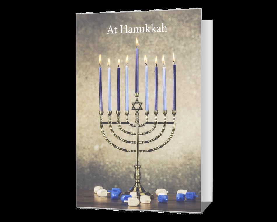 At Hanukkah Printable