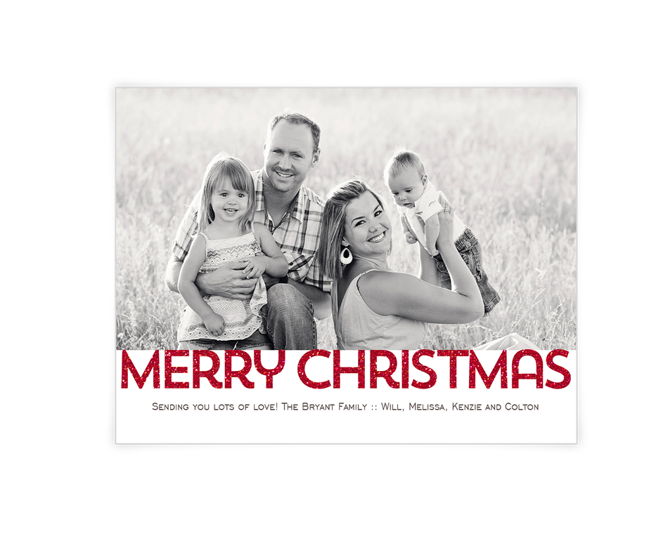 Merry Christmas Printable (Add-a-Photo)