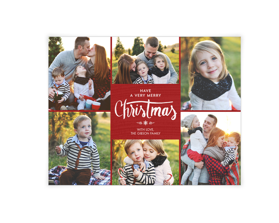 A Very Merry Christmas Printable (Add-a-Photo)