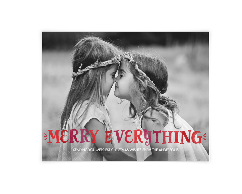 Merry Everything Printable (Add-a-Photo)