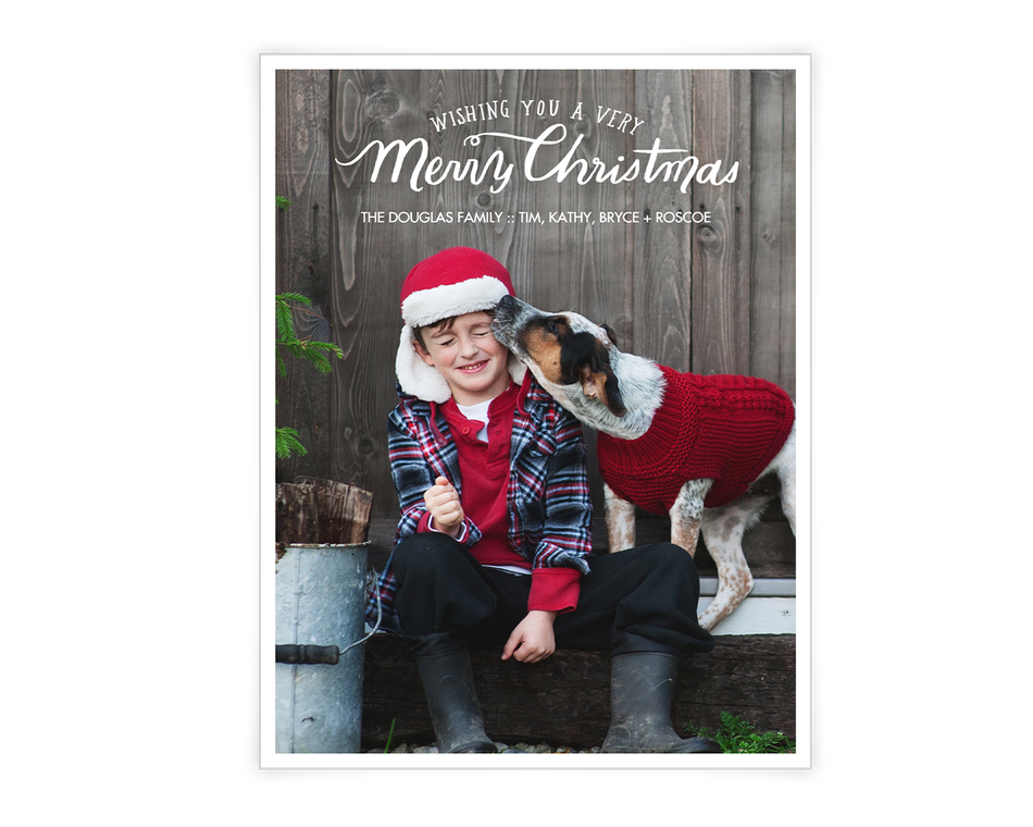 A Very Merry Christmas Printable (Add-a-Photo)