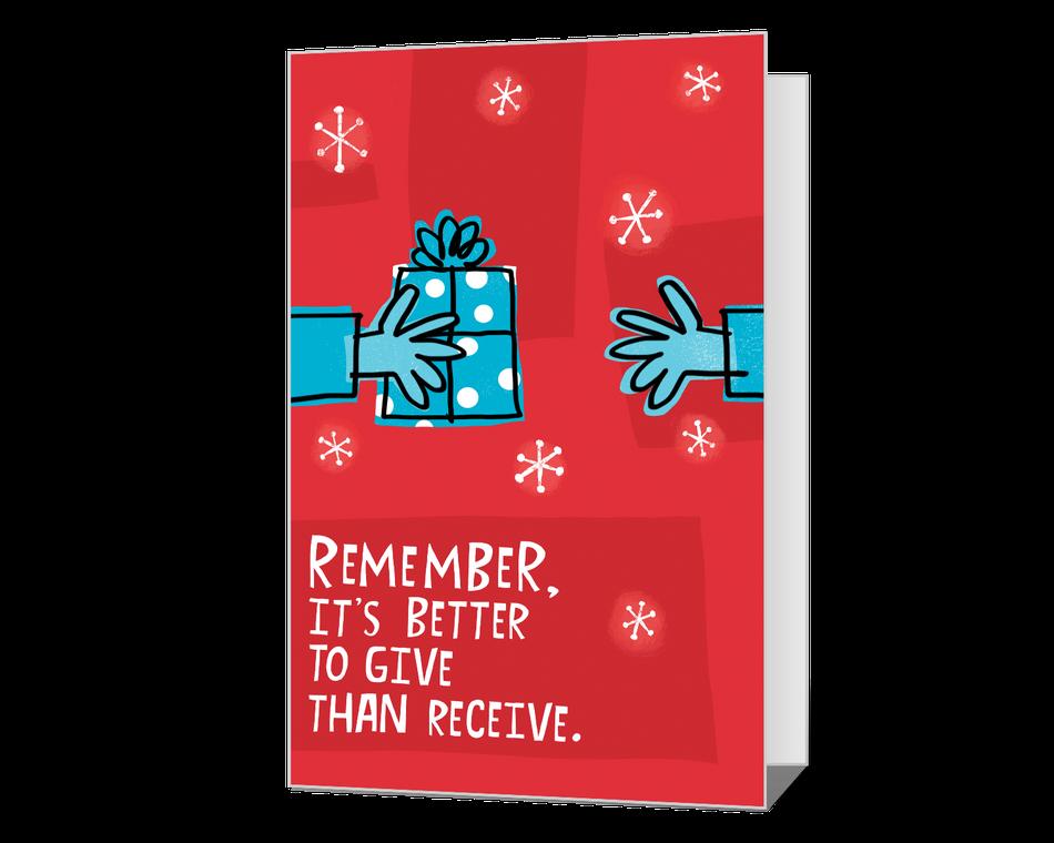 Give & Take Printable