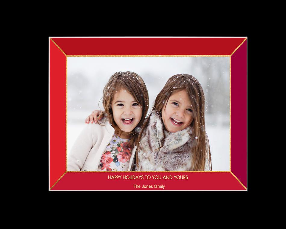 Happy Holidays Printable (Add-a-Photo)