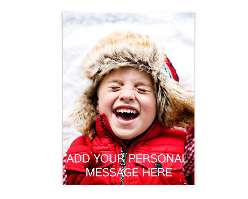 Custom Greeting Printable (Add-a-Photo)