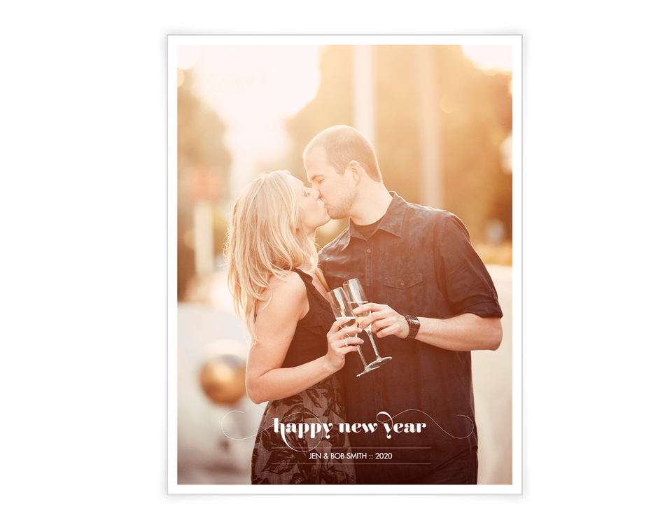 Happy New Year Printable (Add-a-Photo)